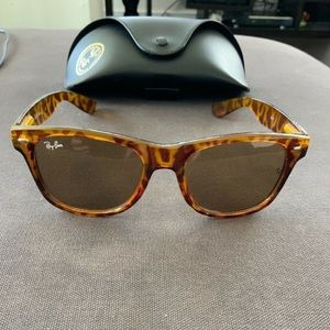 Ray-Ban Sunglasses RB2140 Tortoise With Case